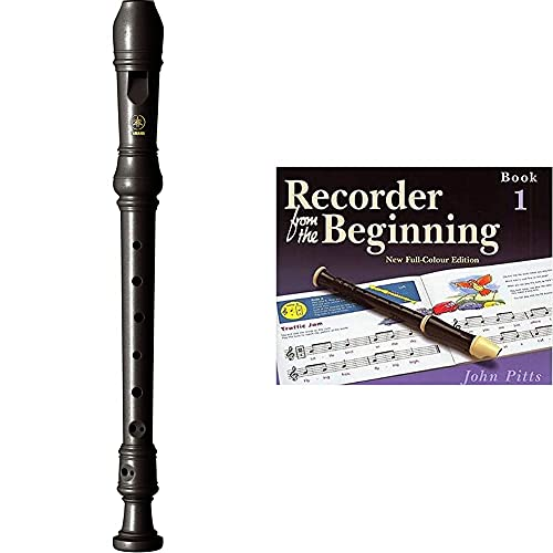 YAMAHA Recorder - Soprano, Baroque fingering, Brown & Recorder from the...
