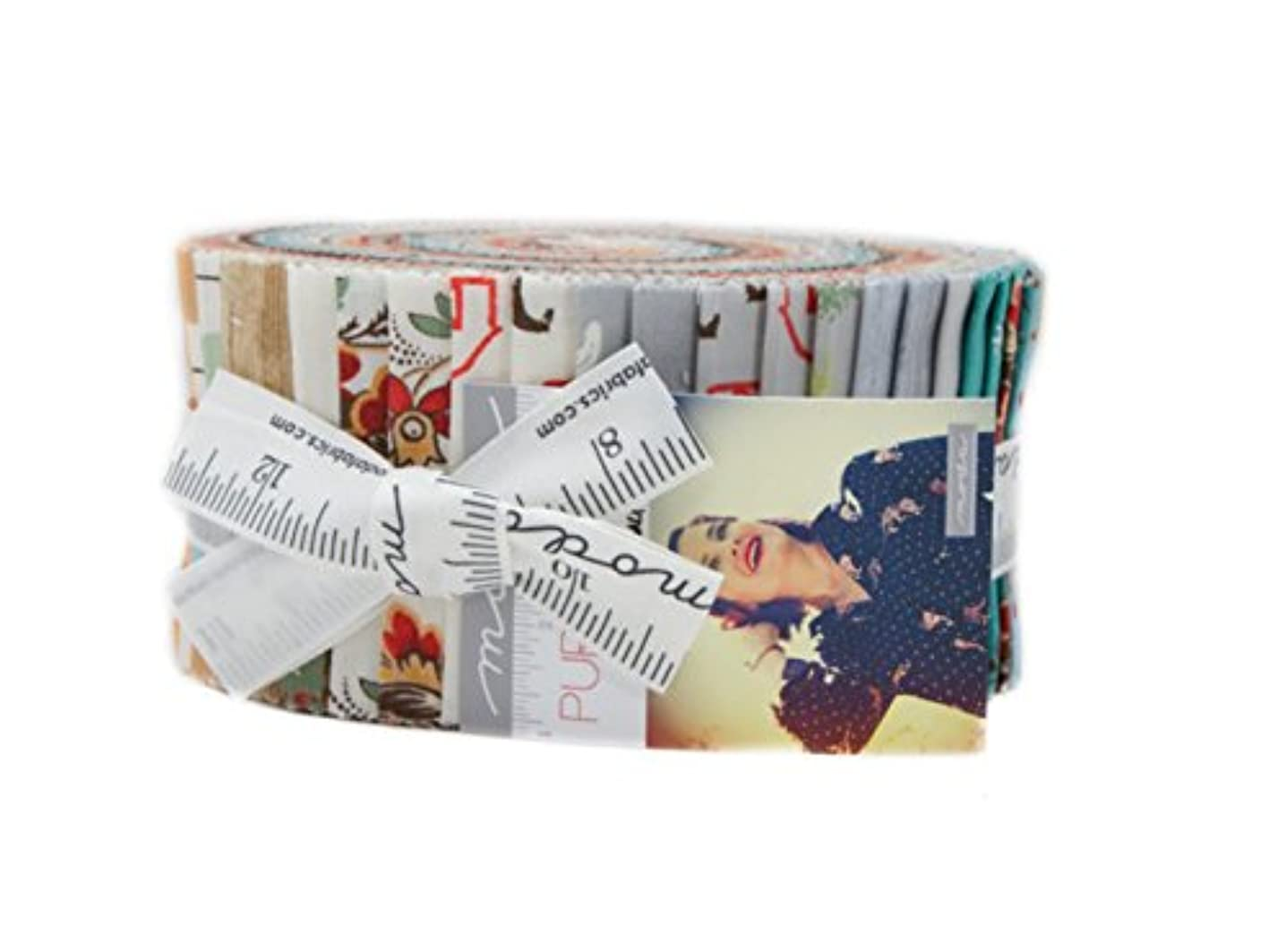 Purebred II Jelly Roll 40 2.5-inch Strips By Erin Michael for Moda Fabrics