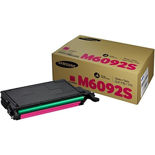 Samsung CLT-M6092S/ELS Original Toner (Hohe Reichweite, Kompatibel mit: CLP-770ND, CLP-775ND) cyan