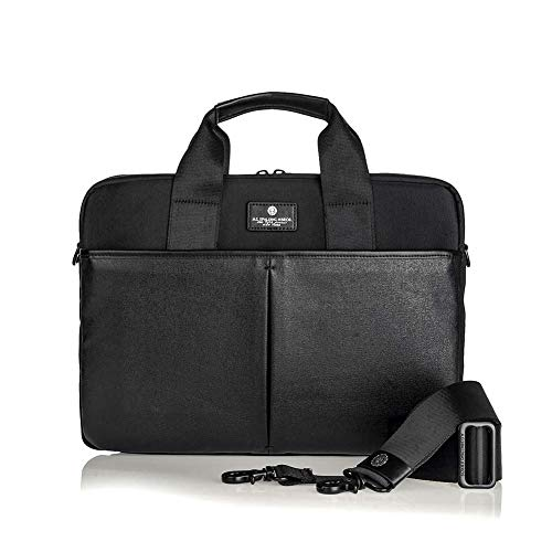 Messenger Bag Porta Computer Pc Laptop fino a 14' A.G.SPALDING&BROS Uomo Donna Man Woman Black Nero 30 X 29 X 5,5 cm 824502U900