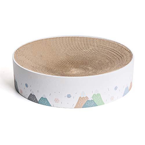 N/A. Rascador de gatos, almohadilla de rascado, estera de juego de cartón reciclable durable
