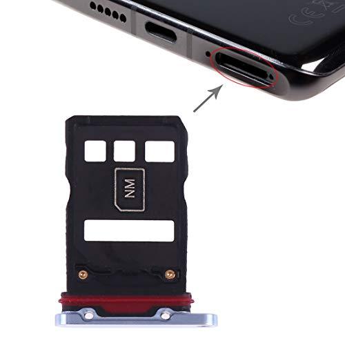 RICAMBIO Try TRAY Vassoio Vano porta scheda NANO SINGLE Sim Card SLOT SLITTA Alloggio COMPATIBILE'per HUAWEI P30 PRO VOG-L29' (Breathing Crystal)