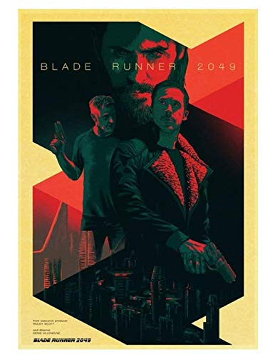 H/P Movie Blade Runner 2049 Retro Poster Wall Stickers Living Room Home Decoration Painting Frameless 50X70Cm W2257