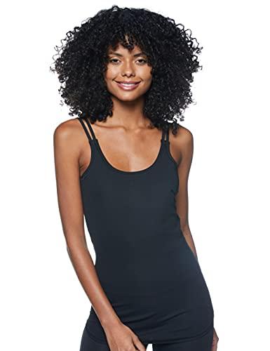 PUMA Studio Rib Tank Camiseta, Mujer, Black, M