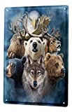 LEotiE SINCE 2004 Blechschild Tierarzt Praxis Deko Alaska