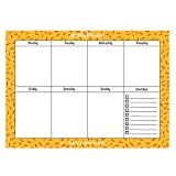 InstaNote Weekly Planner Pad - A4 80 Sheets Multicolor Artwork