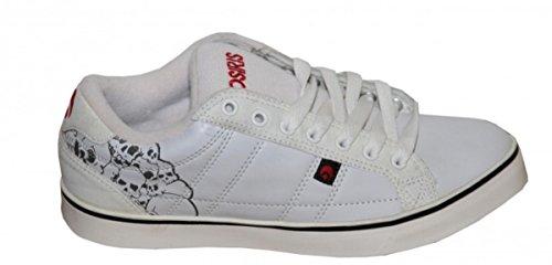 Osiris Skateboard Schuhe Diablo White/Black Sneakers Shoes, Schuhgrösse:42