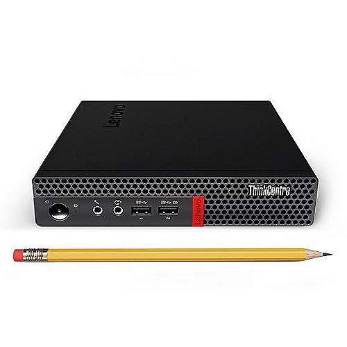 Lenovo ThinkCentre Mini Komplett PC, AMD A9 2 x 2,70 GHz, 8GB RAM, 512GB SSD, USB 3.1, Windows 10 Pro, Tastatur und Maus