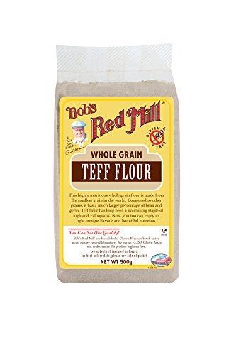 Bob's Red Mill   Farine de Teff sans gluten 500g   Lot de 4 x 500g