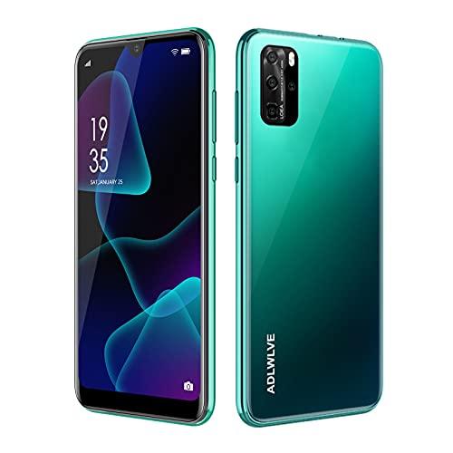 Smartphone Offerta Del Giorno, 6,3  Waterdrop Schermo Android 9.0 Telefoni Cellulari, 4600 mAh, 3GB RAM+32GB ROM  64GB Espandibili, 8MP Camera, Dual SIM Cellulari Offerte (verde)