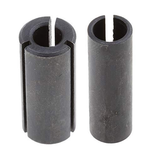 ルートビットチャックアダプタ 6 mm〜12 mm 6 mm〜8 mm 2個