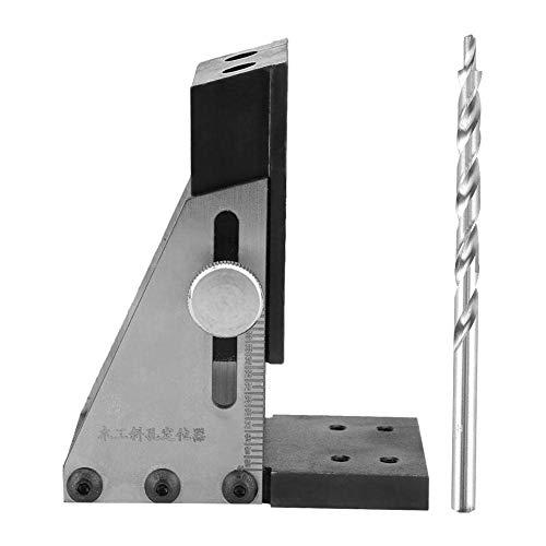 YEESEU Durable Bolsillo Agujero-Jig Kit con bit Paso Taladro Hole Guías Conjunto de localización de Carpintería Hardware Herramienta de la carpintería Herramientas industriales