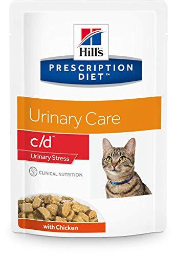 Hill's Prescription Diet c/d Feline Urinary Stress mit Huhn Frischebeutel 12 x 85 g