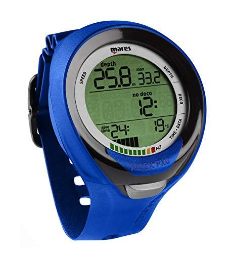 Mares Puck Pro Plus Wrist Dive Computer - Blue/Black