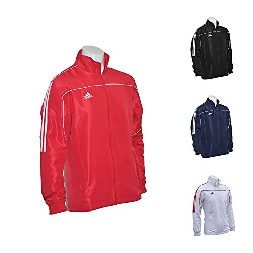 adidas Chaqueta Teamwear, Rojo, L, TR-40