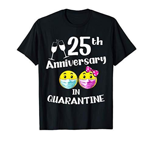 25 ° anniversario di matrimonio per moglie, marito dal 1996 Maglietta