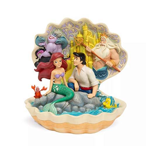 Disney Traditions Seashell Scenario Figurine
