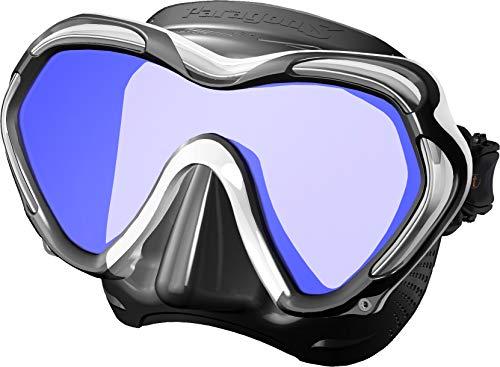 TUSA Paragon S Tauch-Maske Einglas UV Filter Profi (White)