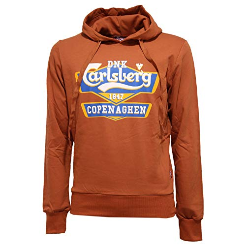 Carlsberg 8553K Felpa Uomo Rust Cotton Sweatshirt Man [M]