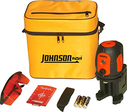 Johnson Level & Tool 40-6680 Self-leveling Five beam Dot Laser