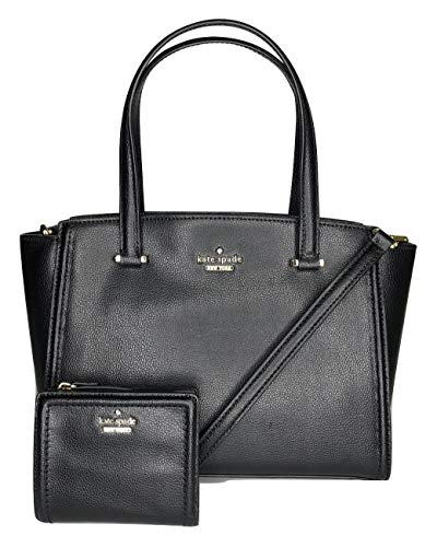 Kate Spade New York Patterson Drive Small Geraldine Bundled with Matching Kate Spade Patterson Drive Small Shawn (Black)