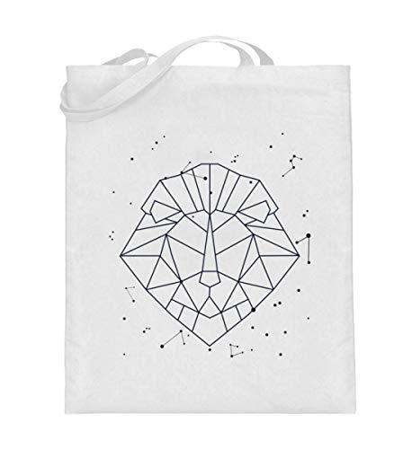 Generisch Sternbild Löwe Sternzeichen Jutebeutel   Horoskop Sterne Galaxie Baumwolltasche