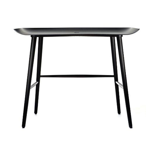 Moooi woood scrivania/Tavolo, 55x 100cm, Colore: Nero