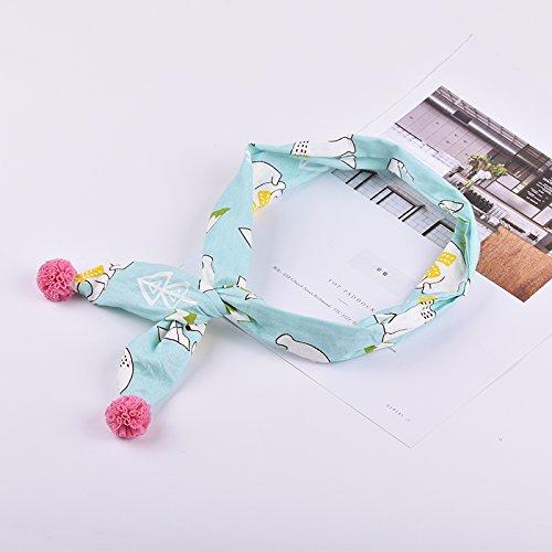 MultiKing hoofdband voor kinderen en kinderen, verstelbare stof, haarband, tide meisjes, spring en zomer, P