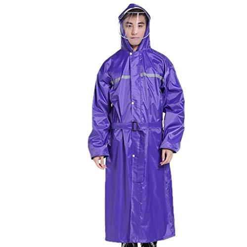 LXESWM Regenponcho regenjas waterdichte poncho reflecterende jas met hoge zichtbaarheid fiets- / loopregenjas noodregenjas voor op reis en outdoor