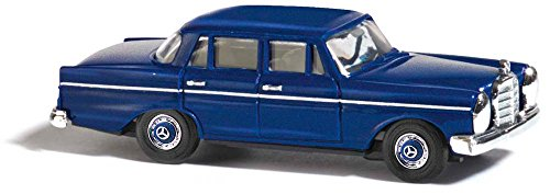 Busch 40402 – Mercedes-Benz 220, véhicule, Bleu