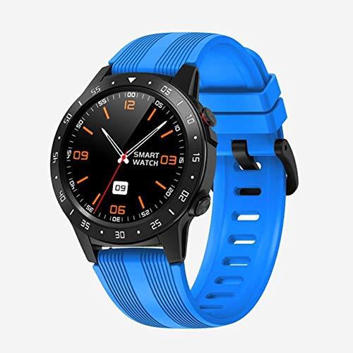 M5s GPS SmartWatch Herren Stand-Alone Karte Anruf Herzfrequenzmesser Ip67 wasserdichtKompass Barometer Wetter SmartWatch China Blau