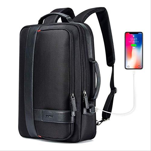 Shjb Zaino Backpack Men Ingrandire Usb External Charge Laptop Backpack 15.6 Pollici Grande Capacità Antifurto Zaino Da Viaggio Per Adolescenti 15.6 Pollici Ingrandimento zaino