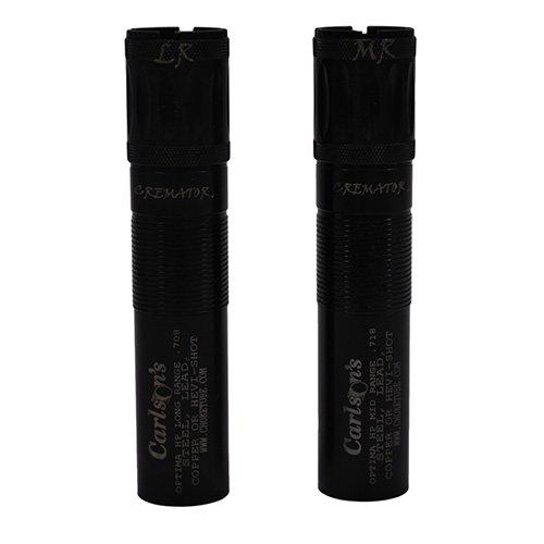 Carlson's Choke Tube Beretta Optima HP Cremator Non-Ported Waterfowl Choke Tube, 12 Gauge, MR & LR, Black