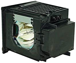 WOWSAI 915P049020 Replacement TV Lamp with Housing for Mitsubishi WD-57831, WD-65831, WD-73831, WD-73732