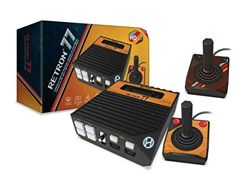 Hyperkin Retron 77 Atari 2600 HD Gaming Console with 2x Atari 2600 Premium Controllers Bundle