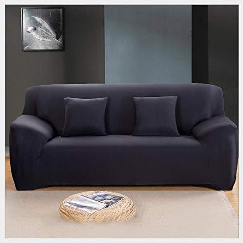 Gxzdfdztygh Funda Sofa 1,2,3 plazas, Fundas de Sofas elasticas y adapatable, Funda sofá Tela Color sólido con Todo Incluido, Adecuado para sofás modulares, sofás Forma L, sofás rectangulares, etc