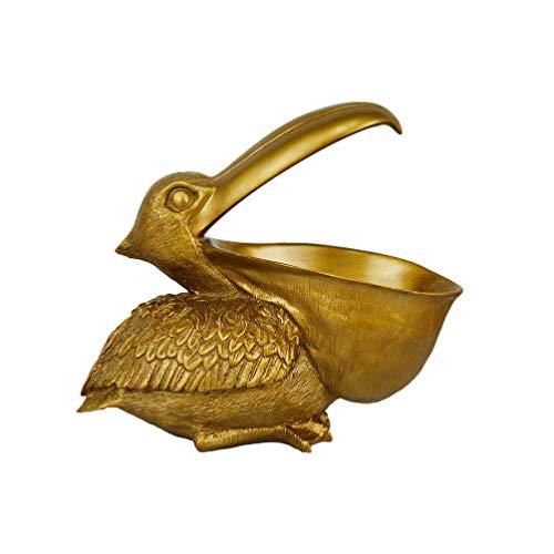 DOITOOL Skrivbord Förvaringslåda Pelican Godis Hållare Sverige Organiserare Förvaring behållare Kontor Pennhållare Skrivbordsprydnader Guld