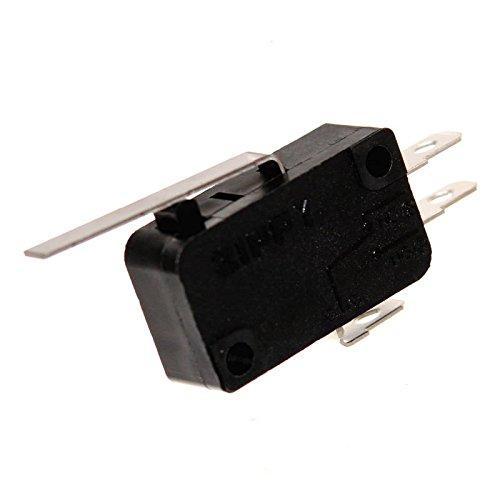 1 Zippy Microswitch Einbau-Taster Mikroschalter Öffner Schließer Wechsler Snap-Action Joystick Switch Neu Joy-Button (Schließer/Öffner mit Wippe)