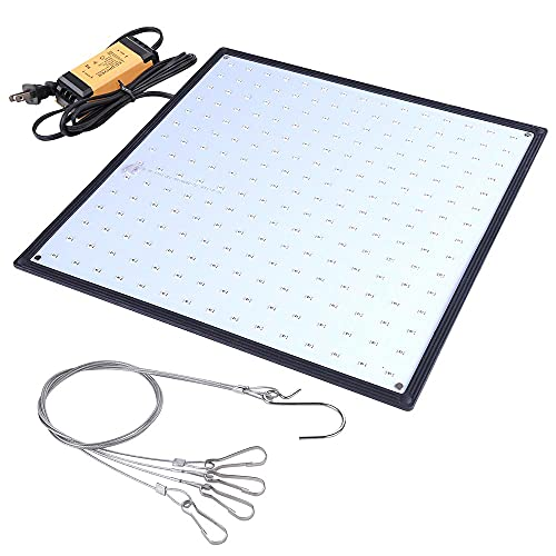 Yescom 225 Blue LEDs Grow Light Ultrathin Panel Hydroponics Indoor Plant Flower Blooming Lamp for Growing Room Tent