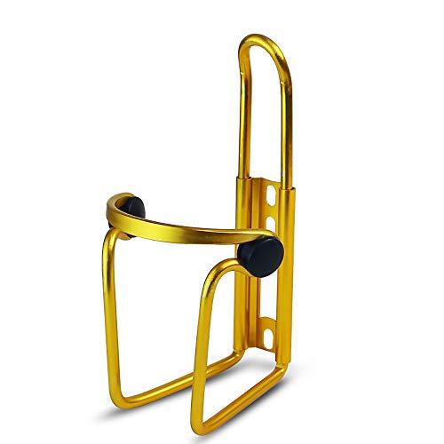 Fenghong Portabicchieri per Biciclette, portaborraccia per Bici Portabici per Bambini Portabottiglie per Acqua Mountain Bike Portabottiglie Universale per bollitore - Oro