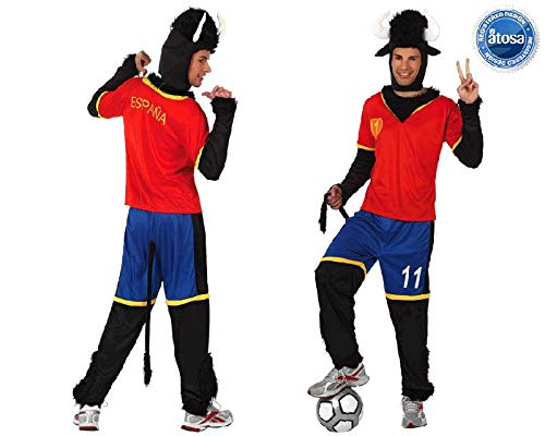 Juguetes Fantasia - Disfraz toro futbolista españa