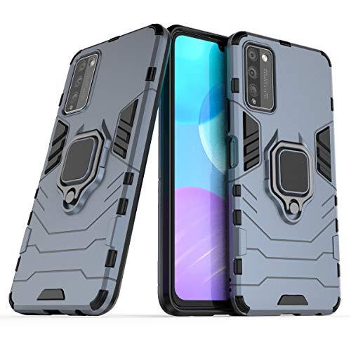 JIAHENG Caja del teléfono Huawei Honor 30 Lite Teléfono, Funda de Smartphone del Anillo de rotación de 360 Grados, Cubierta de la Caja del teléfono a Prueba de Golpes para Huawei Honor