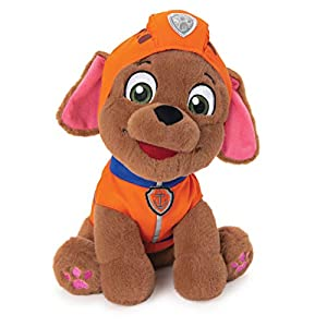 "GUND Paw Patrol Zuma in Uniform Plush Stuffed Animal Dog, Orange, 9"" - 41ueTIlukvL - GUND Paw Patrol Zuma in Uniform Plush Stuffed Animal Dog, Orange, 9″"