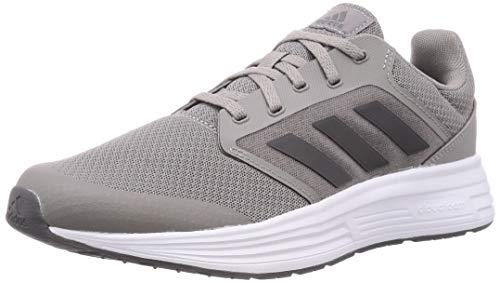 adidas Herren Galaxy 5 Laufschuhe, Dove Grey Grey Footwear White, 46 EU