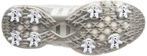 ADIDAS TOUR360 XT Primeknit, Zapatillas de Golf para Hombre, Gris (Gris/Blanco/Plata F35405), 41 1/3 EU