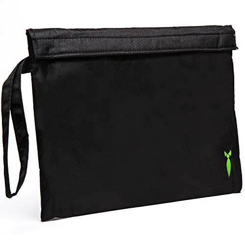 Discreet Smoker Large Smell Proof Bag - Store All Your Smelly Smoking Accessories, Rolling Paper, Grinder and Rolling Tray Dog Tested