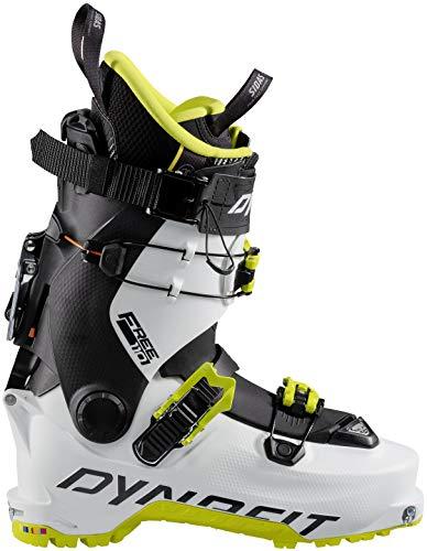 DYNAFIT Hoji Free 110 Grün-Schwarz-Weiß, Touren-Skischuh, Größe EU 43 - Farbe White - Lime Punch