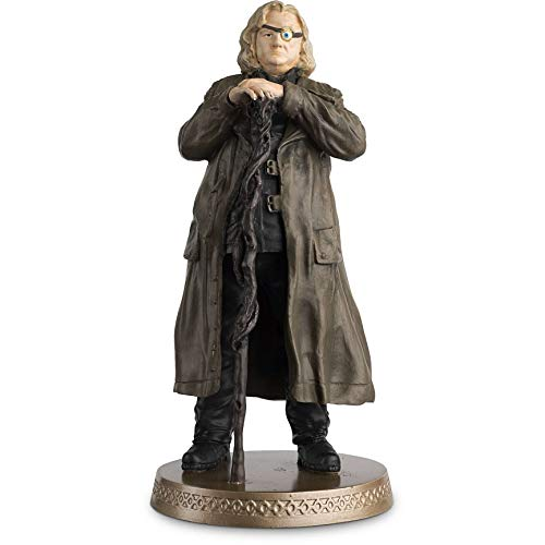 Hero Collector Wizarding World Figurine Collection | Alastor Mad-Eye Moody with Magazine Issue 20 by Eaglemoss