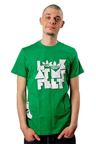 Adidas - T-shirt - Homme Vert Vert