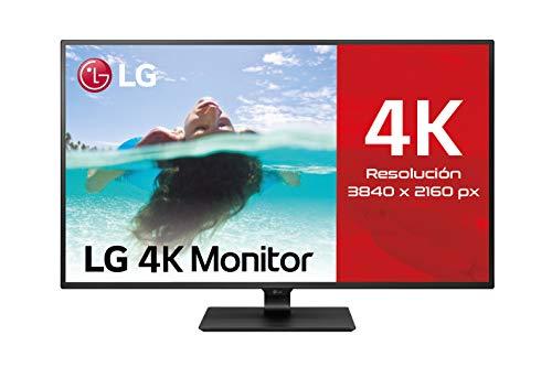 """LG 43UN700-B - Monitor Profesional de 42.5"""" 4K UHD (3840×2160 (8294k), IPS, 16:9, DisplayPort x1, HDMI x4, USB x2, Ultrawide, 60 Hz, 8ms) Negro"""